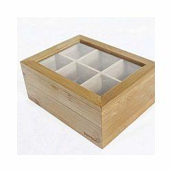Bambusová škatuľka na čaje Bambum Misto