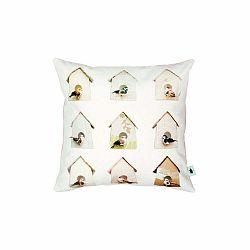 Bavlnená obliečka na vankúš Studio Ditte Birdhouse, 50×50cm