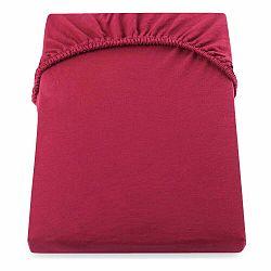 Červená elastická plachta DecoKing Nephrite, 160–180cm