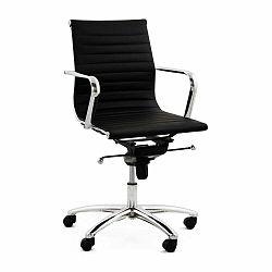 Čierna kancelárská stolička Kokoon Michelin