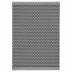 Čierno-biely koberec Zala Living Spot, 70×140cm