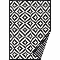 Čierno-biely vzorovaný obojstranný koberec Narma Viki, 160 x 230 cm