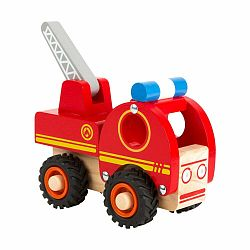 Detské drevené hasičské auto Legler Tractor