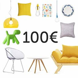 Elektronický darčekový poukaz na 100 €