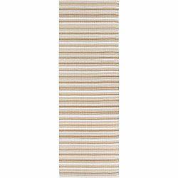 Hnedo-biely koberec vhodný do exteriéru Narma Hullo, 70 × 100 cm