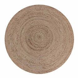 Jutový koberec LABEL51 Rug,⌀ 180cm