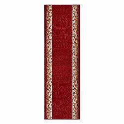 Koberec Basic Elegance, 80x300 cm, červený