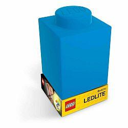 Modré silikónové nočné svetielko LEGO® Classic Brick