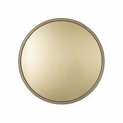 Nástenné zrkadlo v zlatej farbe Zuiver Bandit, Ø 60cm