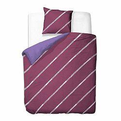 Obliečky z mikrovlákna na jednolôžko DecoKing Basic Ellegance, 135×200cm