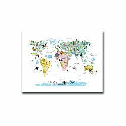 Obraz Onno Map, 30 × 40 cm
