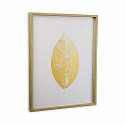 Obraz v ráme Versa Leaf no. 2, 45 x 60 cm