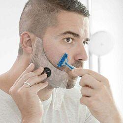 Šablóna na strihanie fúzov InnovaGoods Hipster Barber