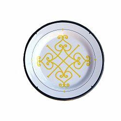 Sada 6 melamínových tanierikov Sunvibes Arabesque, ⌀ 20 cm