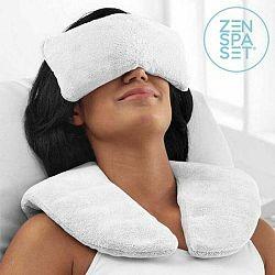 Set vankúšika a relaxačných obkladov InnovaGoods Wellness