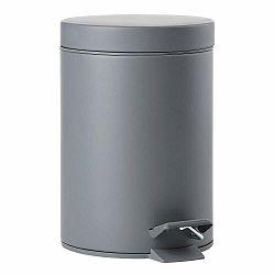 Sivý pedálový odpadkový kôš Zone One