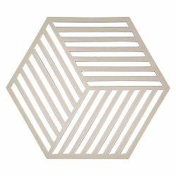 Svetlosivá podložka pod horúce nádoby Zone Hexagon