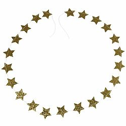 Vianočná girlanda Rex London Gold Stars