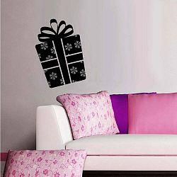 Vianočná samolepka Darček Wall Sticker Gift;