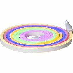 Vonkajšia svetelná reťaz Best Season Rope Light Flatneon, dĺžka 500 cm