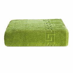 Zelený bavlnený uterák Kate Louise Pauline, 30 x 50 cm