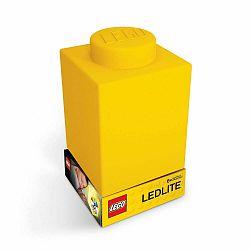 Žlté silikónové nočné svetielko LEGO® Classic Brick