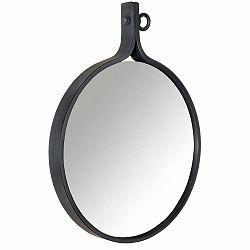 Zrkadlo v čiernom ráme Dutchbone Attractif, šírka 60 cm