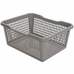 Aldo Plastový košík 29,8 x 19,8 x 9,8 cm, béžová
