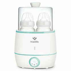 Ohrievačka dojčenských flašiek TrueLife Invio BW Double biely/zelený