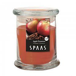 SPAAS Vonná sviečka v skle Apple Cinnamon, 11 cm