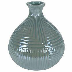 Váza Loarre zelená, 12,5 x 14,5 cm