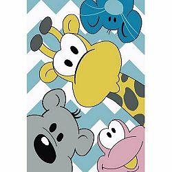 Vopi Kusový detský koberec Kiddo 1087 multi, 120 x 170 cm